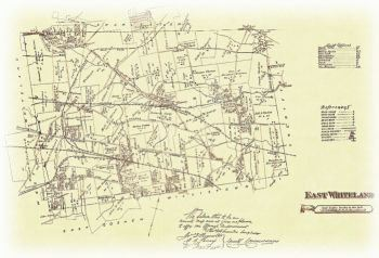 East Whiteland Township Map